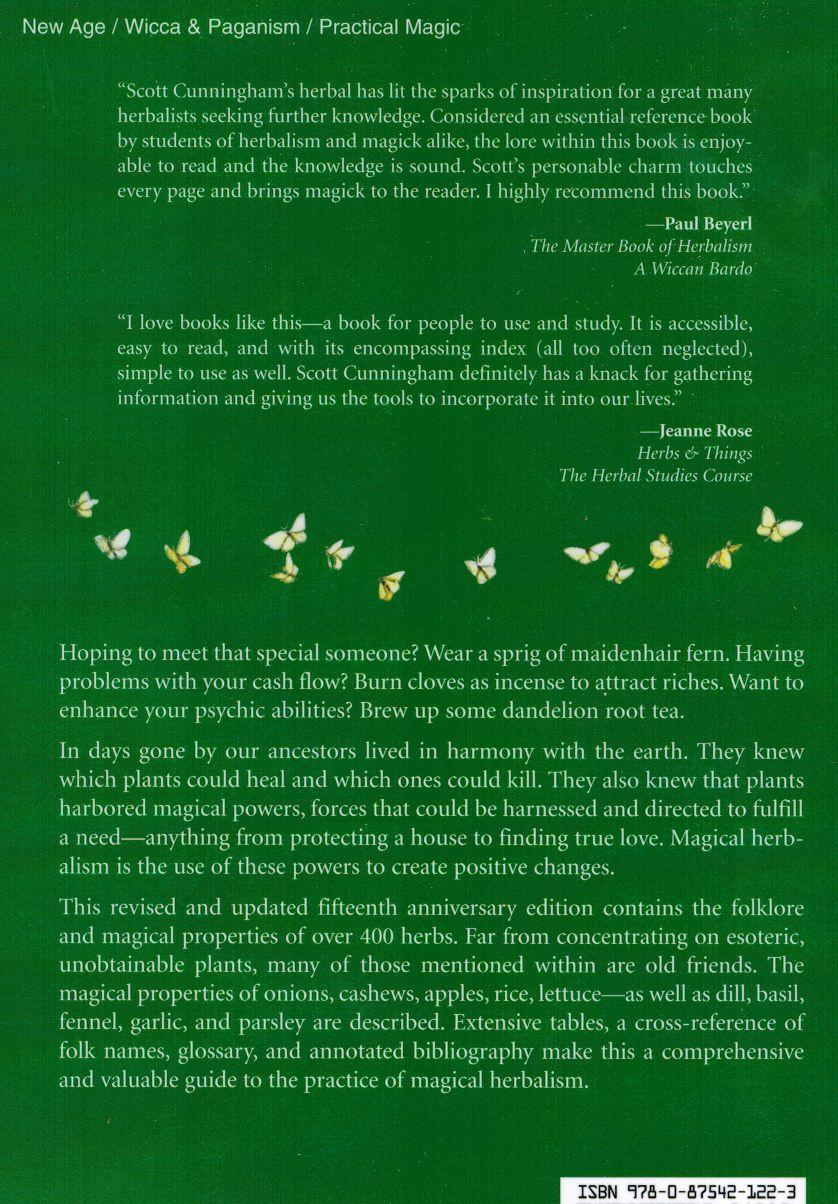 Scott Cunningham's Encyclopedia Of Magical Herbs
