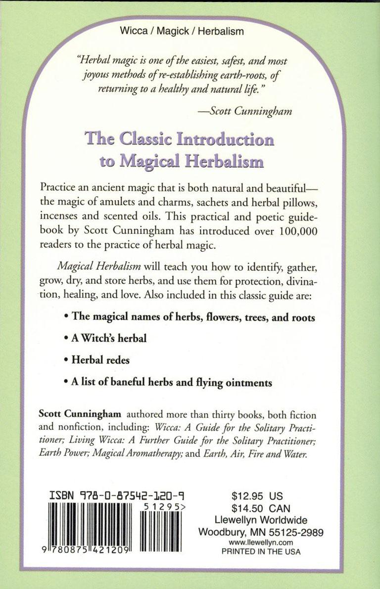 magical herbalism scott cunningham pdf